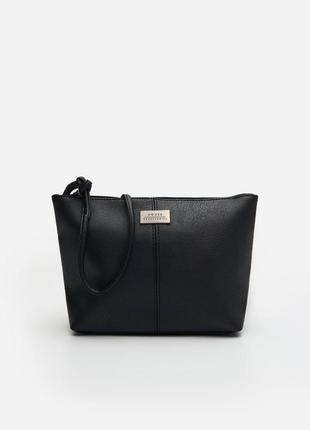Базовая сумка кросс боди house черная сумочка через плечо клатч