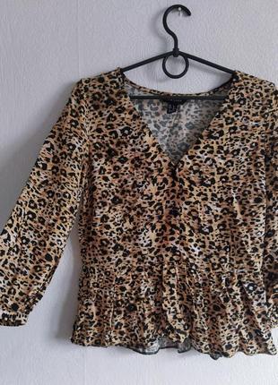 Шикарная блуза в анималистичный принт