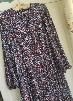 Платье zara миди, 42-46, новое