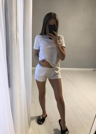 Піжама/ біла піжамка / пижамка /