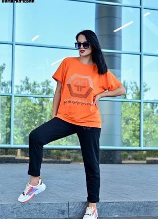 Костюм жіночий штані - футболка