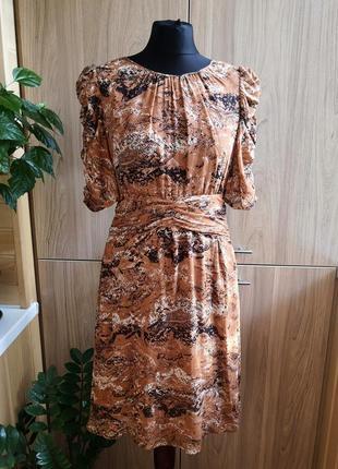 Легкое натуральное платье whistles, 100% шелк
