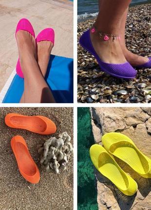 Аквашузы силиконовые коралки, мыльницы для пляжа