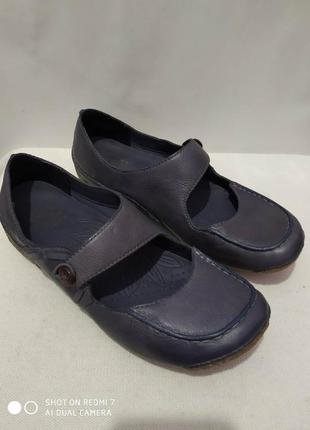Кожаные туфли clarks active air