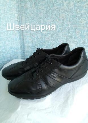 Кожаные туфли спортивного типа fretz men швейцария