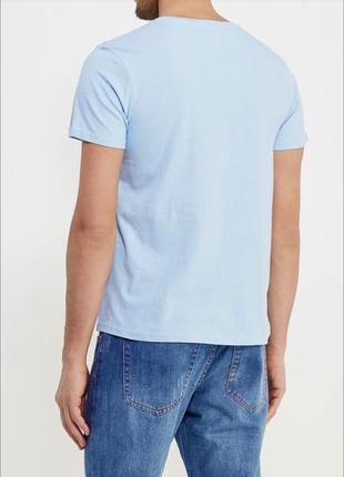 Комплект однотонных базовых футболок 100% хлопок размеры4 фото