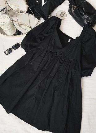 Милое стильное платье с квадратным вырезом