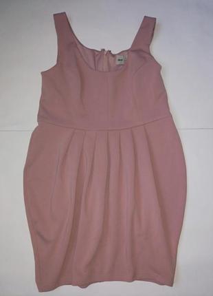Платье фасона тюльпан,18 размер