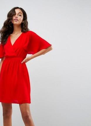 Яркое эффектное платье asos