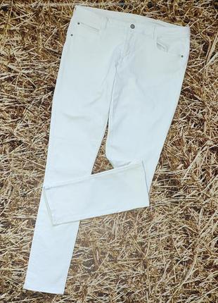 Новые белые джинсы h&m. размер 36\34, на высокий рост1 фото