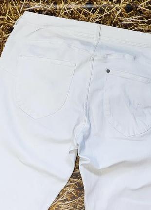 Новые белые джинсы h&m. размер 36\34, на высокий рост3 фото