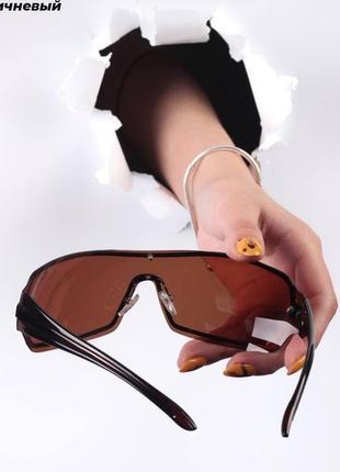 Стильные очки солнцезащитные, имиджевые