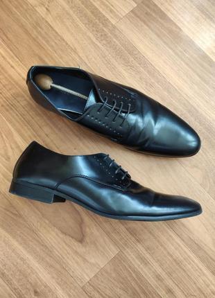 The shoes мужские черные туфли дерби