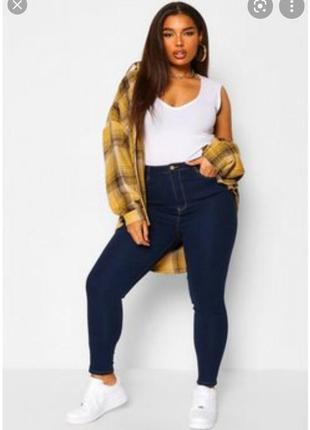Стильні високі джинси