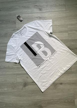 Белая футболка livergy дефект цена снижена