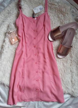 Красивенькое платье из визскозы h&m