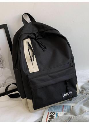 Универсальный рюкзак черный
