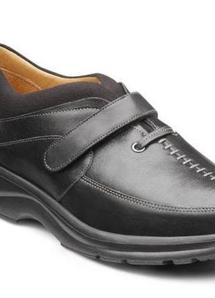 Комфортные кожаные туфли широкая полнота5 фото