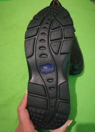 Комфортные кожаные туфли широкая полнота4 фото