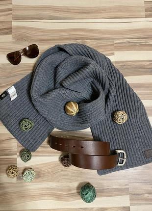 Стильный, вязаный шарф  24/192 🧣(германия🇩🇪)
