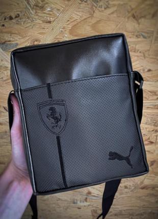Новая стильная сумка - барсетка через плече экокожа / бананка / клатч  слинг