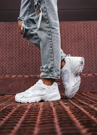 Женские кроссовки new balance 530 белые