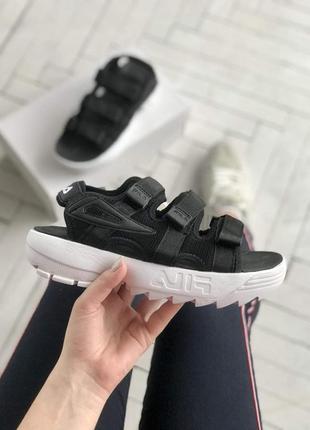 Fila sandals 🍏 стильные женские сандалии фила