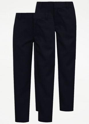 Комплект школьных брюк george - англия.2шт
