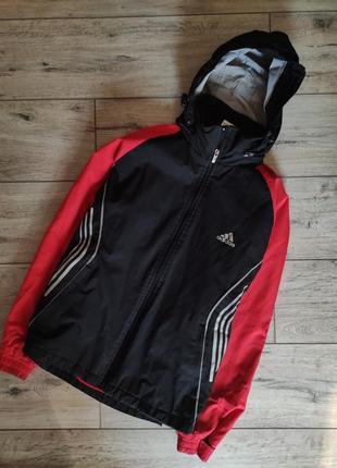Демисезонная куртка adidas climalite курточка винтаж