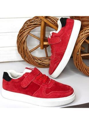 👌 натуральная замша кеды мокасины туфли красные кроссовки mbs