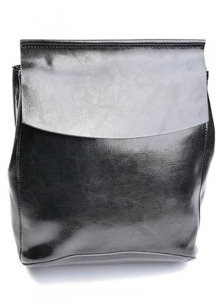 Женский кожаный рюкзак жіночий шкіряний портфель сумка кожаная женская