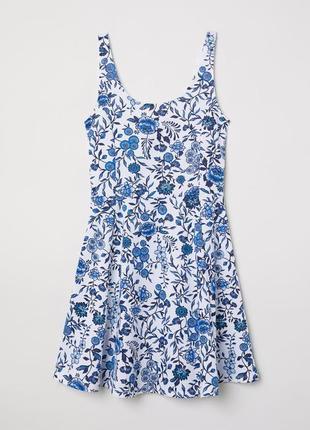 H&m платье в цветочек сукня плаття
