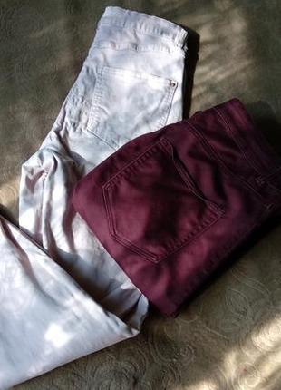Лот штаны высокая посадка