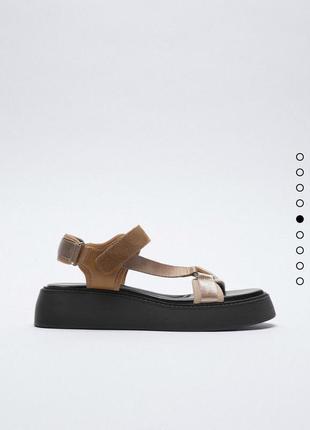 Босоножки сандали на платформе zara оригинал