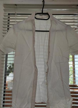 Рубашка классическая с коротким рукавом