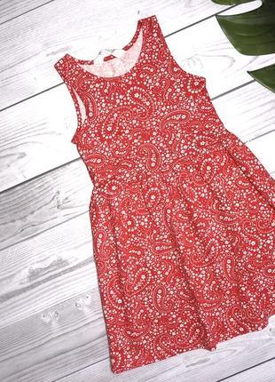 Легкие трикотажное платье h&m 4-6 лет