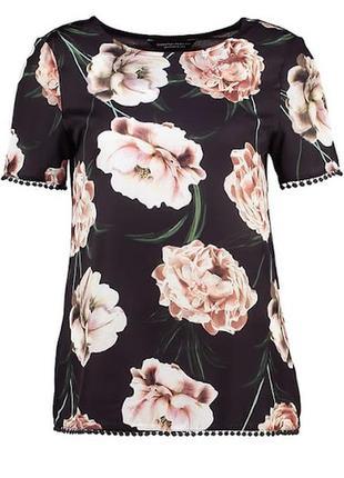 Блуза пионы