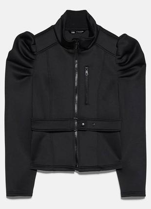 Куртка- пиджак софтшел zara