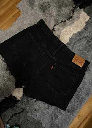 Шорты джинсовые невероятно стильные levis