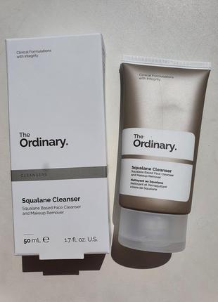 The ordinary squalane cleanser 50 ml гидрофильный бальзам для умывания