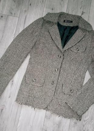 Пиджак monton 40% шерсти