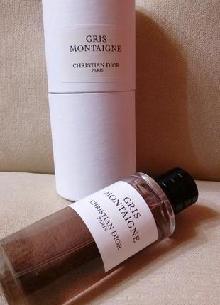 Christian dior gris montaigne оригинал_eau de parfum 5 мл затест распив отливанты8 фото