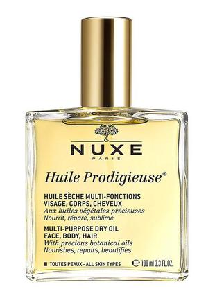 Масло сухое nuxe prodigieux multi-usage dry oil, 100 мл