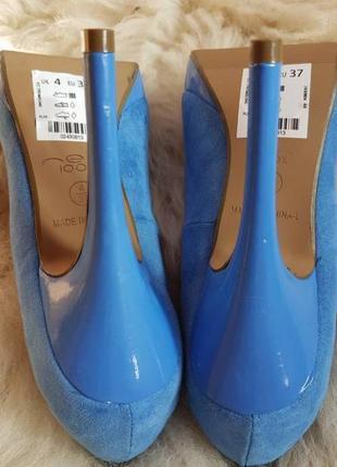 Новые фирменные туфли босоножки лодочки