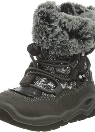Зимові теплі чобітки primigi з мембраною gore-tex, 26р.