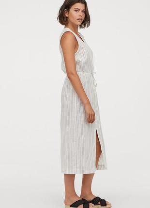 Платье рубашка сарафан миди h&m zara cos