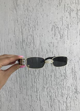 Солнцезащитные очки, очки с кольцом в линзе