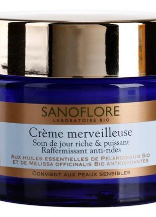 Sanoflore merveilleuse 50ml укрепляющий и питательный крем против морщин