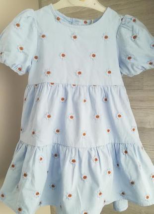 Супер платье в цветочек zara