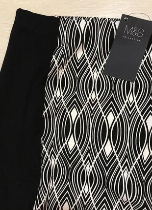 Очень красивая и стильная брендовая юбка-миди большого размера.